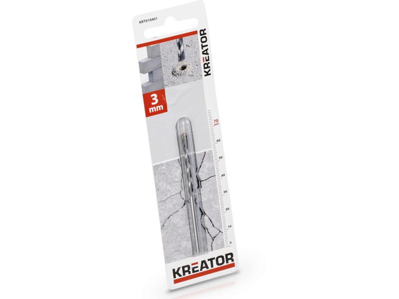 Kreator KRT010401 mèche à béton 3x70 mm