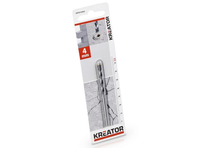 Kreator KRT010402 betonboor 4x75 mm