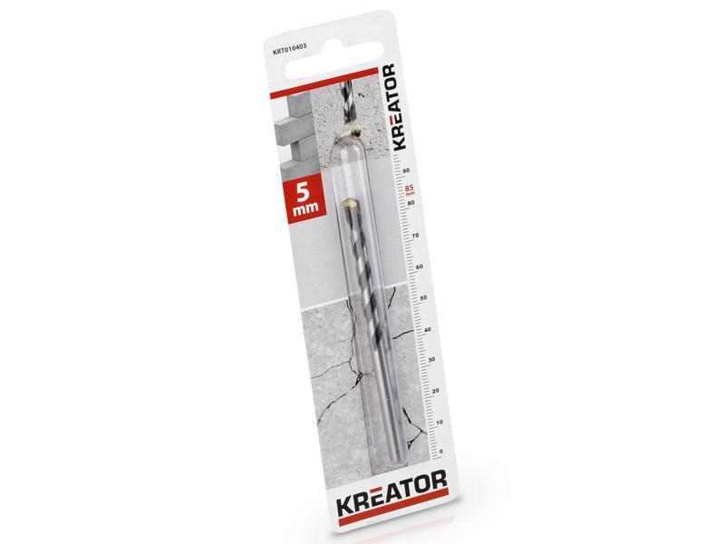 Kreator KRT010403 mèche à béton 5x85 mm
