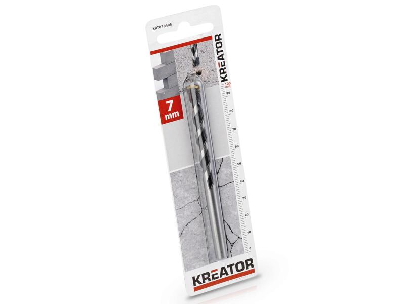 Kreator KRT010405 mèche à béton 7x100 mm