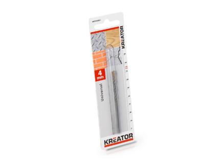 Kreator KRT010501 universele boor 4mm