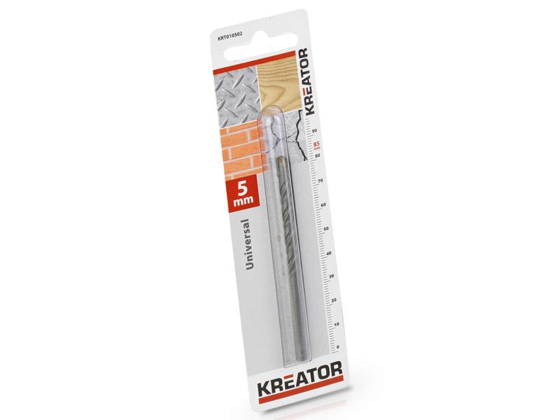 Kreator KRT010502 universele boor 5mm