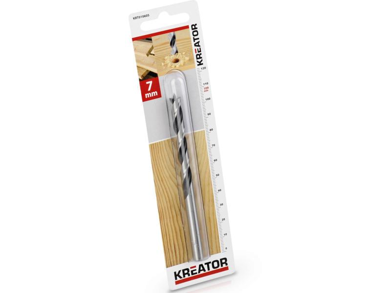 Kreator KRT010605 mèche à bois 7mm