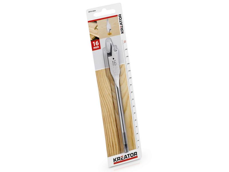 Kreator KRT010806 mèche à bois plate 16mm