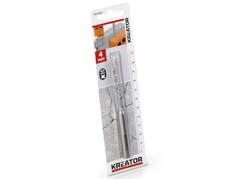 Kreator KRT010901 mèche à béton SDS-plus 4x110 mm