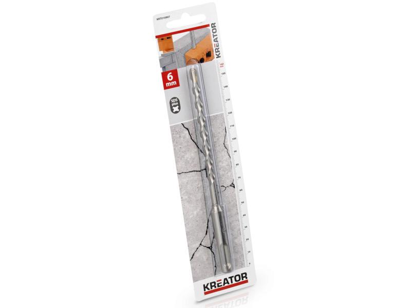 Kreator KRT010907 mèche à béton SDS-plus 6x160 mm