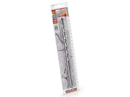 Kreator KRT010911 mèche à béton SDS-plus 14x210 mm
