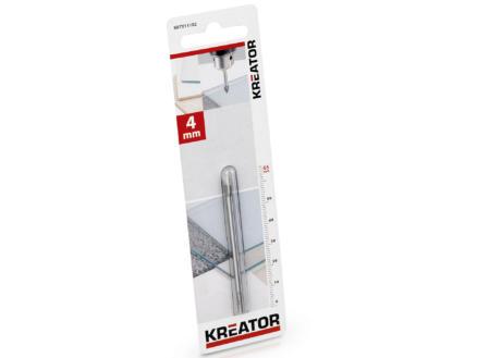 Kreator KRT011102 mèche à verre et carrelage 4mm