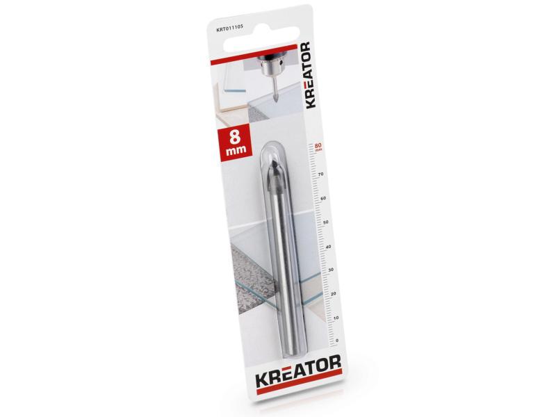 Kreator KRT011105 mèche à verre et carrelage 8mm