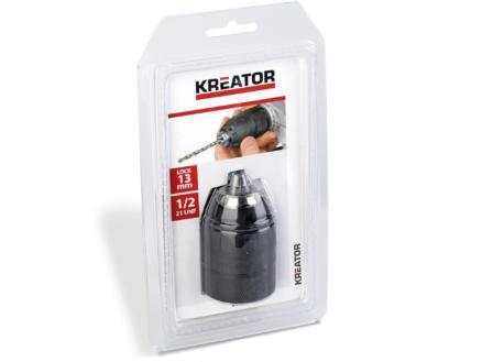 Kreator KRT014003 mandrin automatique 13mm avec blocage 1/2 21 UNF