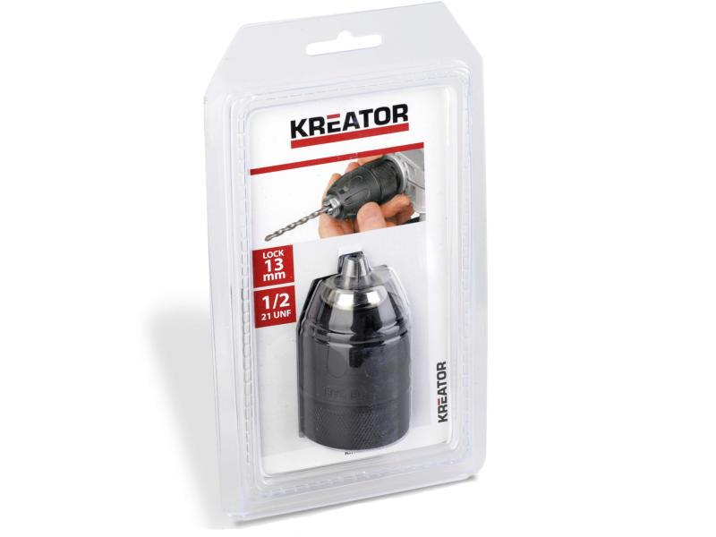 Kreator KRT014003 snelspanboorhouder 13mm met slot 1/2 21 UNF