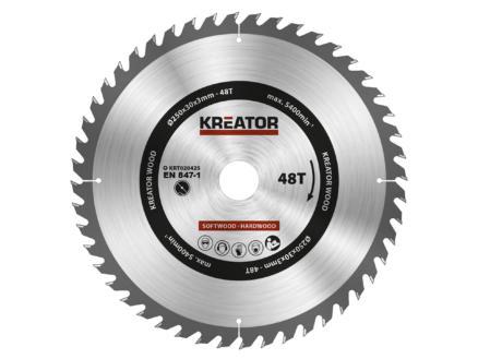 Kreator KRT020425 cirkelzaagblad 250mm 48T hout