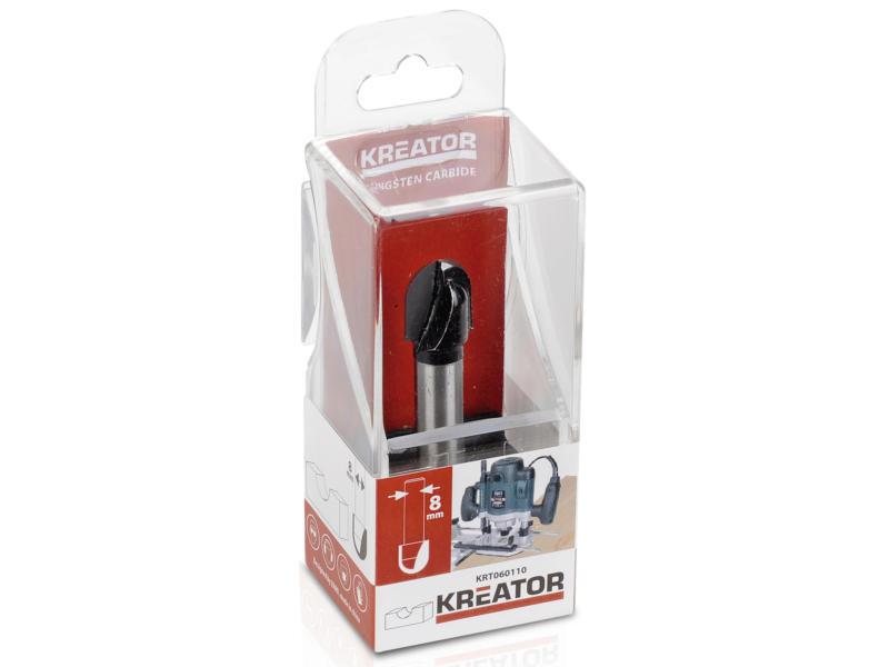 Kreator KRT060110 fraise à canneler carbure 13x13 mm