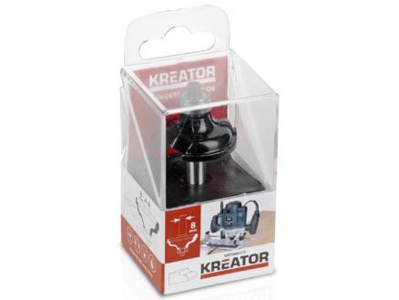 Kreator KRT060115 fraise à profil carbure 15x35 mm