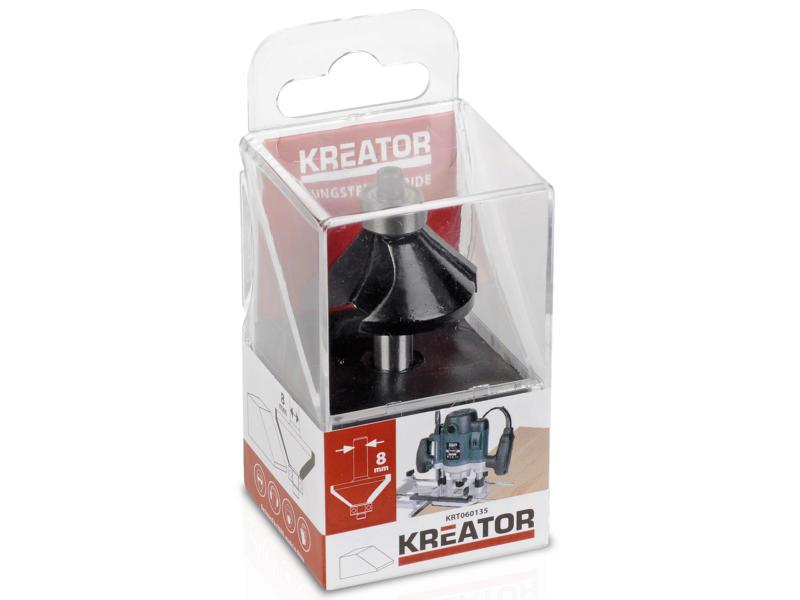 Kreator KRT060130 fraise à profil carbure 14x30 mm