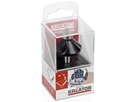 Kreator KRT060135 fraise à chanfreiner carbure 16x35 mm