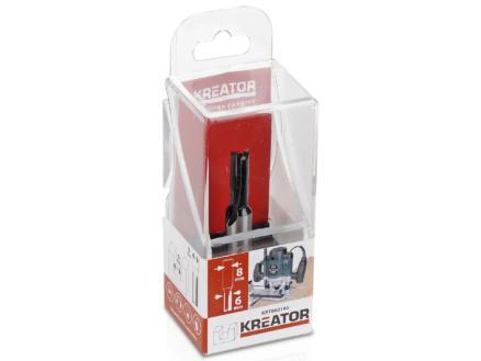 Kreator KRT060145 fraise à rainurer droit carbure 19x6 mm