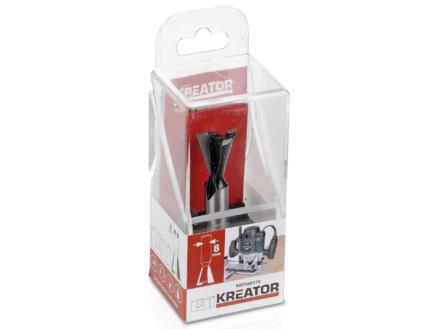Kreator KRT060170 zwaluwstaartfrees HM 15x14 mm