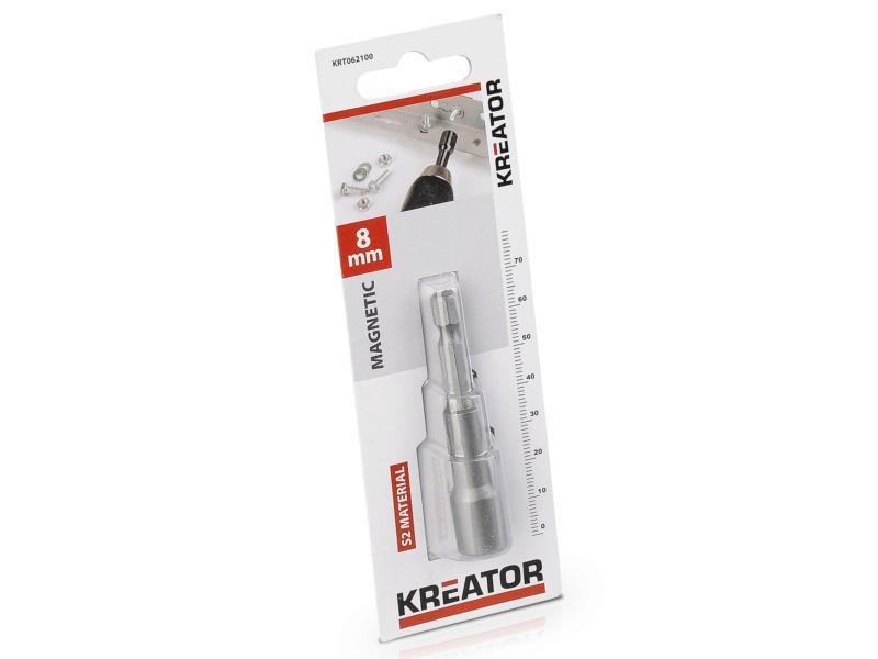 Kreator KRT062100 magnetische dopsleutelbit 8mm