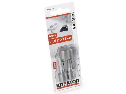 Kreator KRT062400 embout clé à douille 4 pièces
