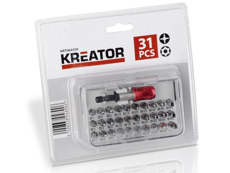 Kreator KRT064550 bitset PZ/TX 31-delig