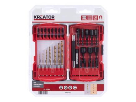 Kreator KRT064913 coffret de mèches et d'embouts set de 38