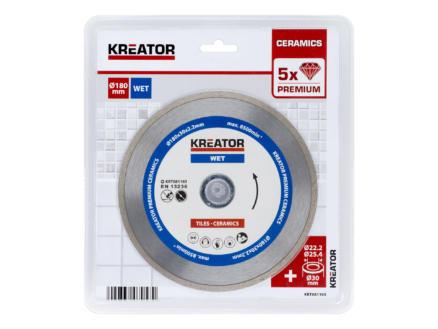 Kreator KRT081103 disque diamant 180x2,2x30 mm eau