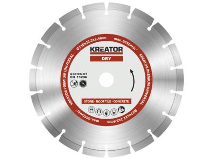 Kreator KRT082104 disque diamant 230x2,4x22,2 mm sec