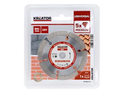 Kreator KRT082105 Premium disque diamant 85x1,8x10 mm
