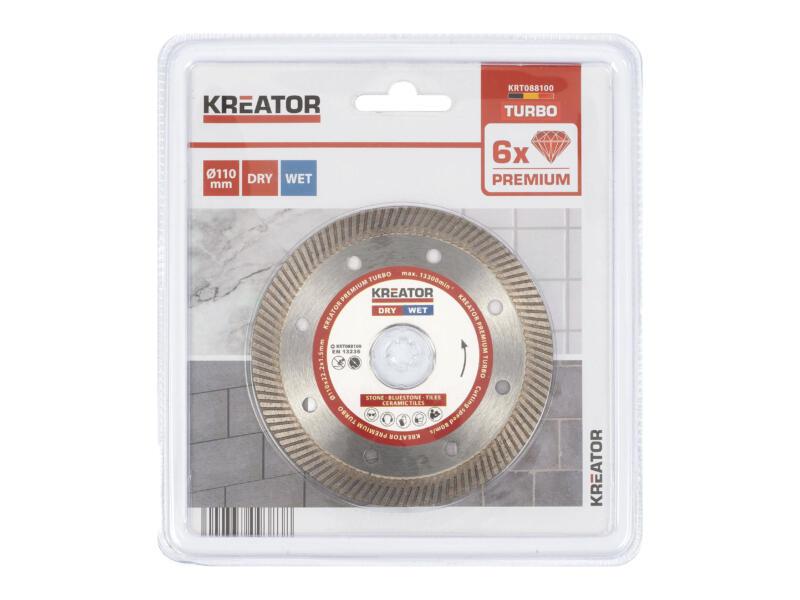 Kreator KRT088100 snijschijf 110x1,5x22,2 mm