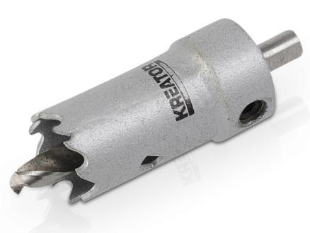Kreator KRT100101 scie-cloche 19mm métal/bois