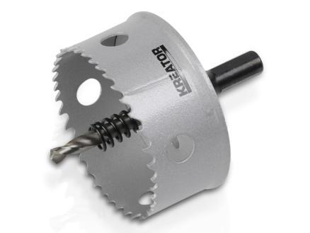 Kreator KRT100115 klokboor 68mm metaal/hout
