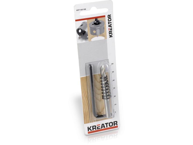 Kreator KRT100198 mèche à centrer jusqu'à 25mm