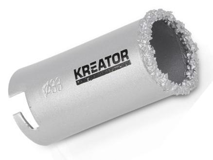 Kreator KRT100201 klokboor 33mm steen