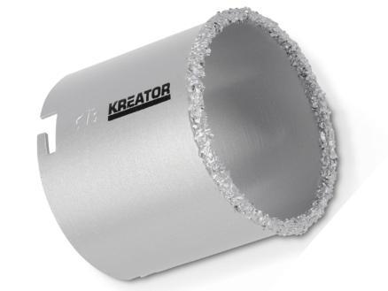 Kreator KRT100205 scie-cloche 73mm pierre
