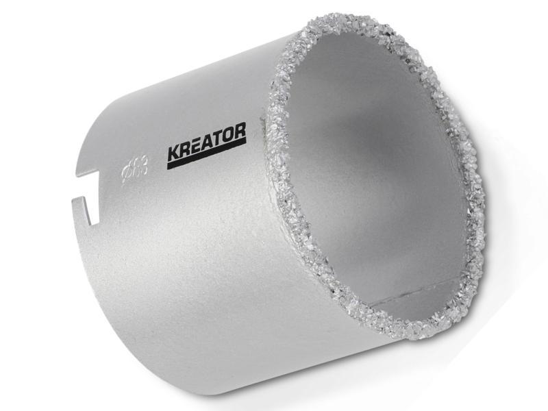 Kreator KRT100206 klokboor 83mm steen