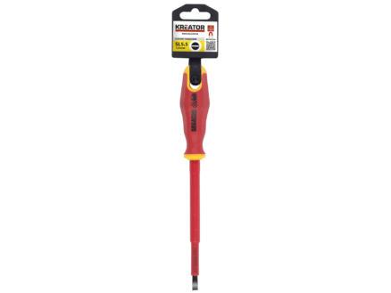 Kreator KRT401204 VDE tournevis plat 5,5x125 mm