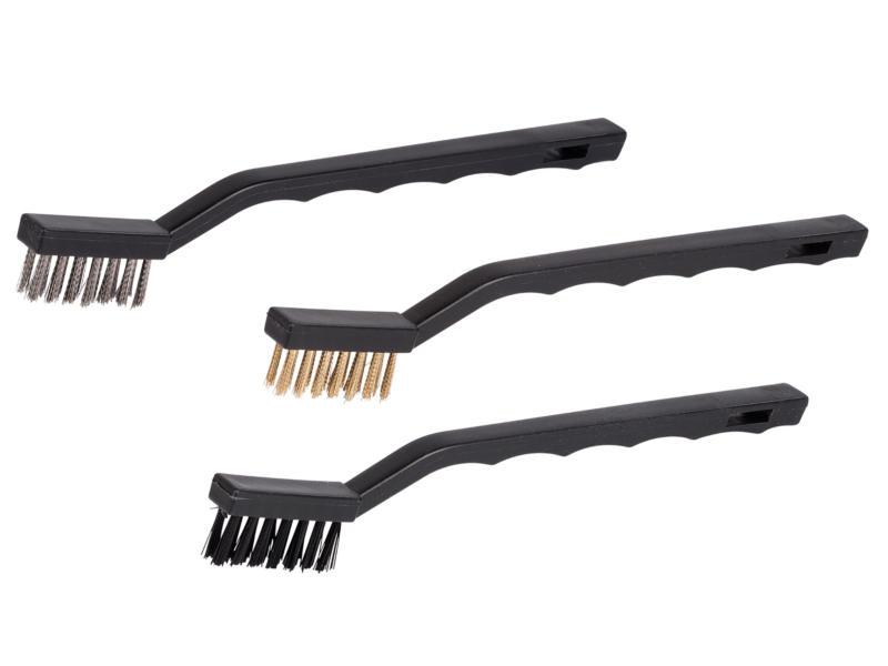Kreator KRT561102 set de brosses abrasives mini 3 pièces