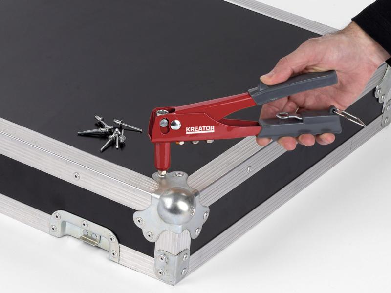 Kreator KRT617101 pince à riveter eco + 60 rivets