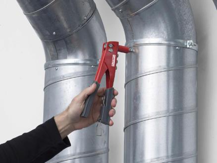 Kreator KRT617101 riveteertang eco + 60 rivetten