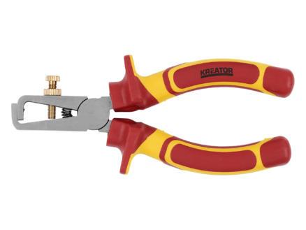 Kreator KRT620003 VDE pince à denuder 150mm
