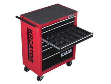 Kreator KRT653004 servante d'atelier 7 tiroirs 348 pièces