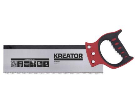 Kreator KRT809001 verstekbak 30x10x8 cm + rugzaag 35cm