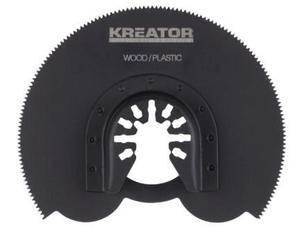 Kreator KRT990020 lame de scie segmentaire 90mm bois/matière synthétique
