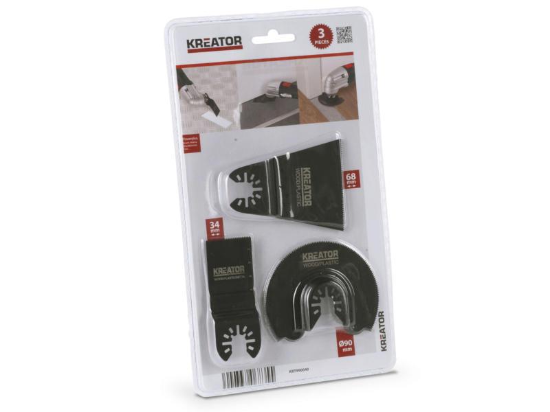 Kreator KRT990040 set lames 3 pièces