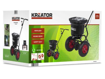 Kreator KRTGR9005 strooiwagen 300-370 cm 23kg