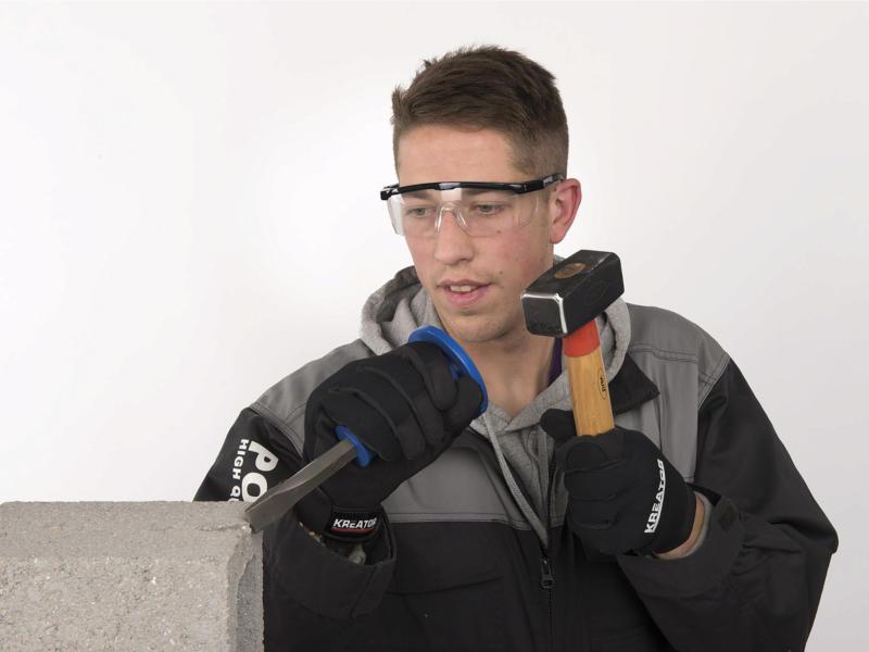Kreator KRTS30002 veiligheidsbril met regelbare lens