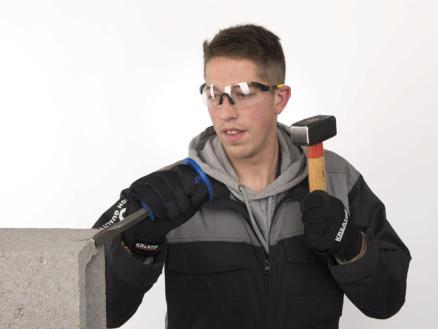 Kreator KRTS30009 veiligheidsbril verstelbaar