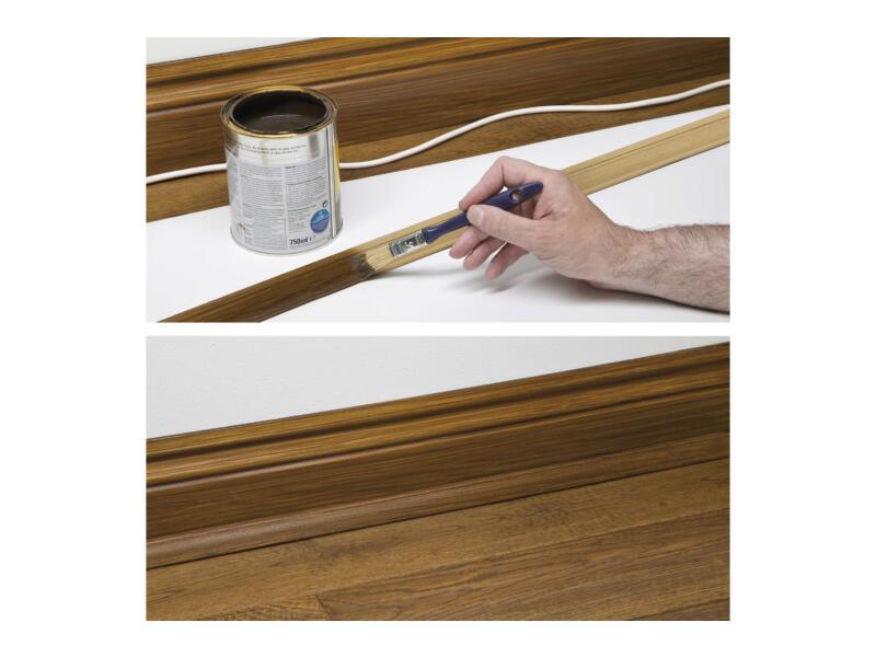 D-Line Kabelgoot hoek 90° 22x22 mm 2m hout
