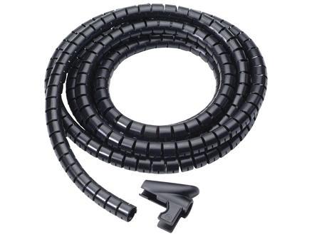 Kabelhouder 15mm 3m zwart